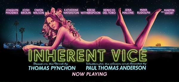 映画『インヒアレント・ヴァイス』のポスター