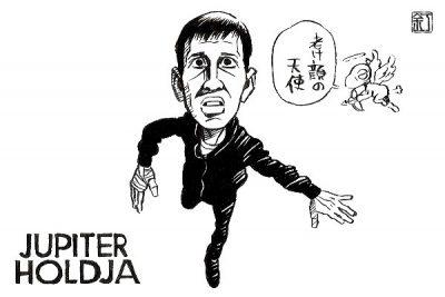 映画『ジュピターズ・ムーン』ジョンボル・イェゲルのイラスト(似顔絵)
