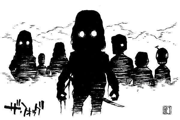 映画『ザ・フォッグ』(1980)のイラスト