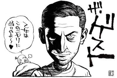 映画『ザ・ゲスト』ダン・スティーヴンスのイラスト(似顔絵)